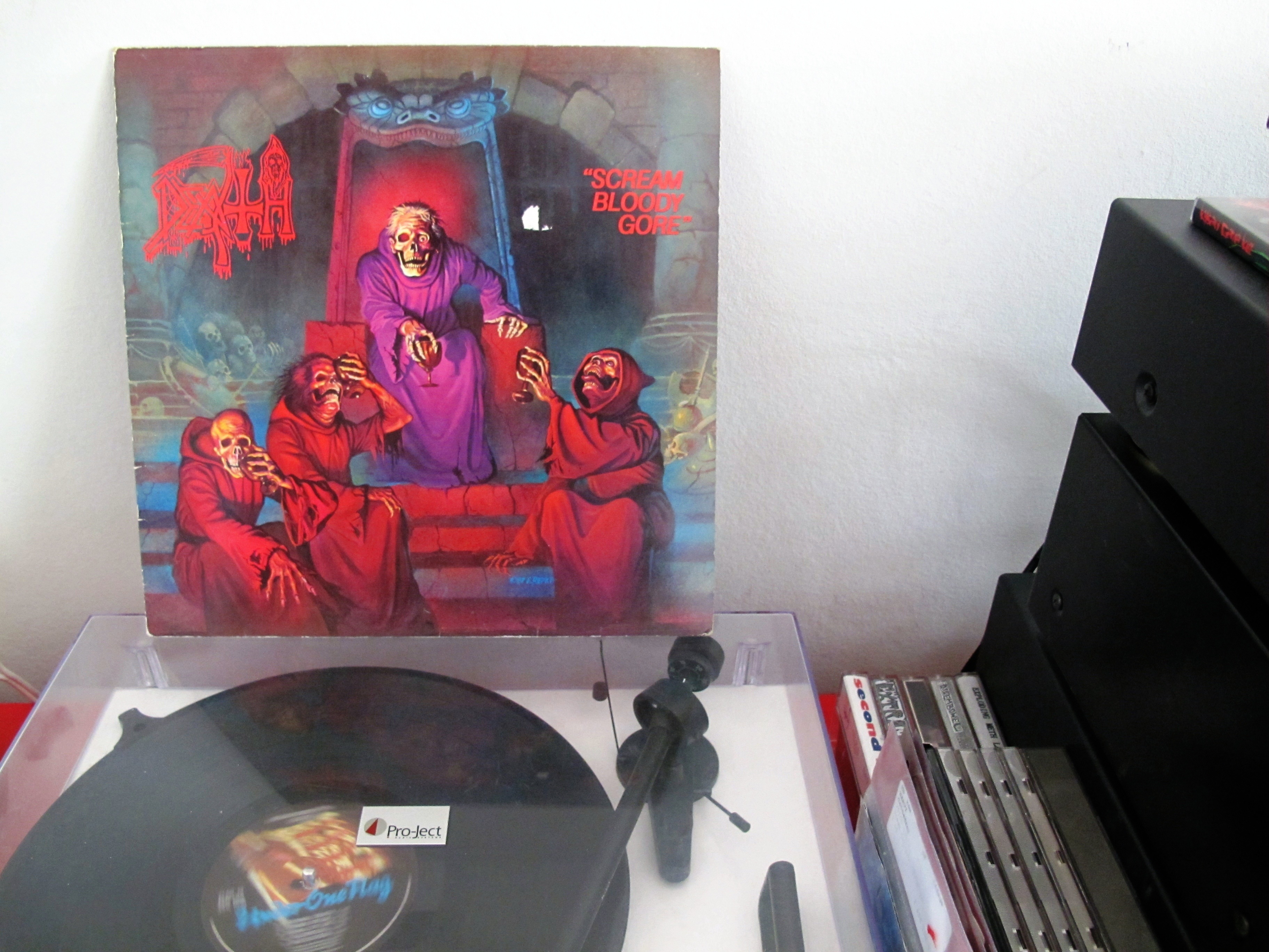 Death Scream Bloody Gore Now Playing Records